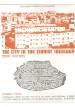 The City in the Zionist Ideology